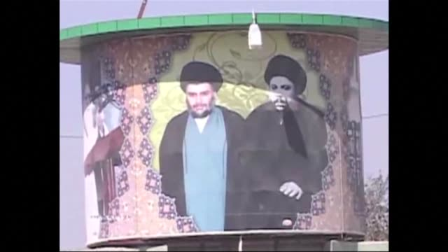 powerful shiite cleric moqtada al-sadr on tuesday slammed iraq's government as corrupt, days after announcing his exit from politics clean : iraq's... - najaf stock videos & royalty-free footage