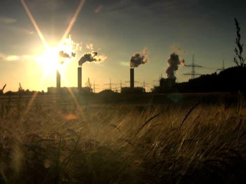 stockvideo's en b-roll-footage met ntsc: powerplant - mens gemaakte bouwwerken