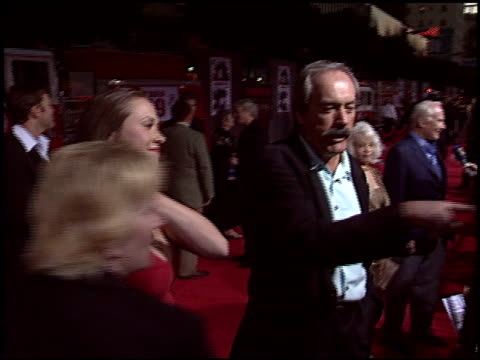 powers boothe at the 'ladder 49' premiere at the el capitan theatre in hollywood, california on september 20, 2004. - el capitan theatre stock videos & royalty-free footage