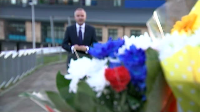 tributes paid to four victims ext reporter to camera - powys stock videos & royalty-free footage