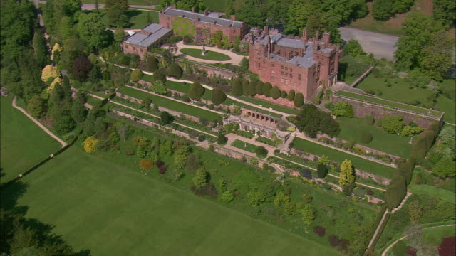 powys castle - mid wales stock videos & royalty-free footage
