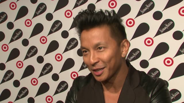 prabal gurung on the collaboration between target and neiman marcus at target neiman marcus holiday collection launch event interview prabal gurung... - neiman marcus stock videos & royalty-free footage