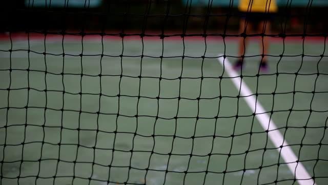 practice of tennis sport - tennis stock videos & royalty-free footage