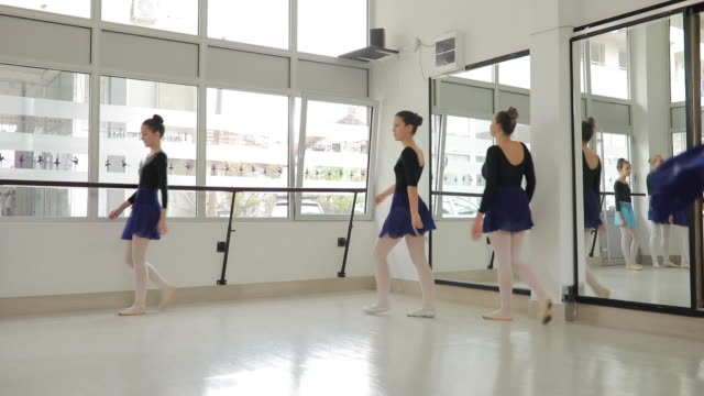 practicing pirouette - pirouette stock videos and b-roll footage