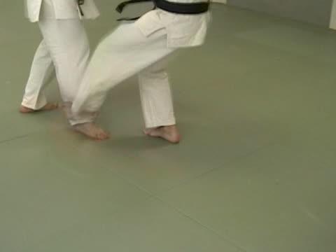 practising 柔道 - 柔道点の映像素材/bロール