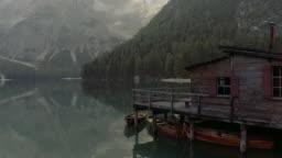 Pragser Wildsee, Lake Braies, Italy