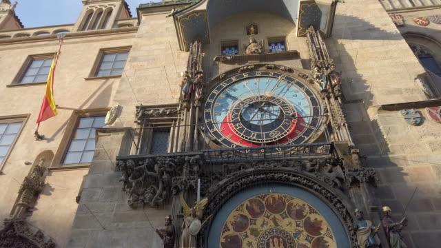 プラハ天文時計 - プラハ旧市庁舎点の映像素材/bロール