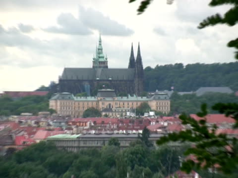 hd: prague castle - hradcany castle stock videos & royalty-free footage