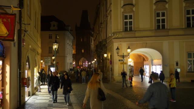 Prague Celetná Street And Powder Tower (Prasna Brana)
