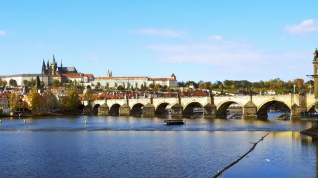 Prague Charles Bridge And Hradcany
