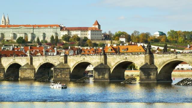 Prague Charles Bridge And Royal Palace