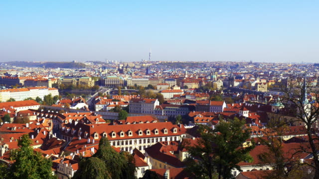 prague mala strana and old town - mala strana stock videos and b-roll footage