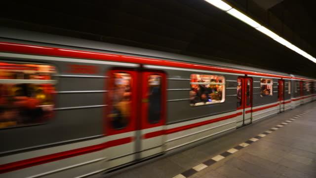 Prague Metro in Prague City