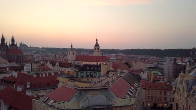 prague old city view - czech republic - traditionally czech stock videos & royalty-free footage