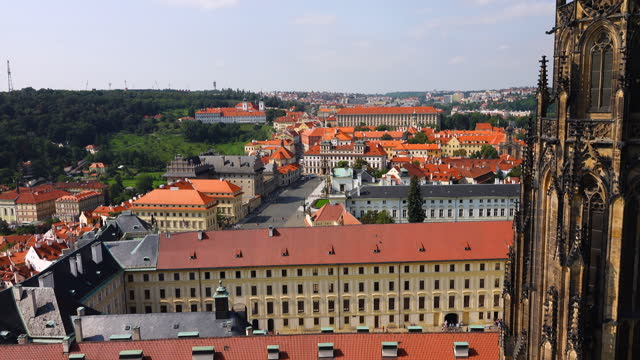 stockvideo's en b-roll-footage met prague old city view - czech republic - tsjechische cultuur