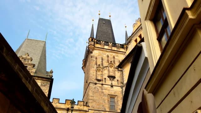 プラハ 旧市街ビュー - stare mesto点の映像素材/bロール