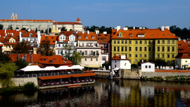 prague old city view - czech culture stock videos & royalty-free footage