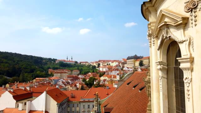 vidéos et rushes de vue de la vieille ville de prague - culture de l'europe de l'est