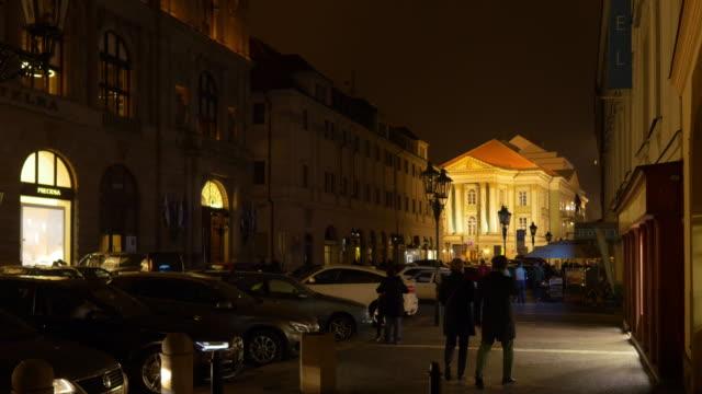 Prague Rytířská Street And Estates Theater (Stavovské Divadlo)