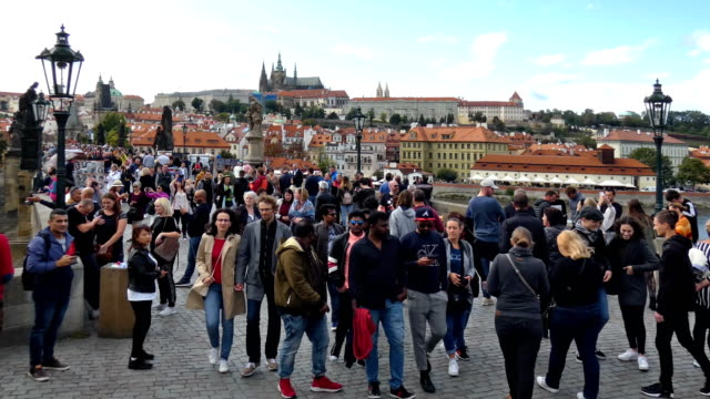 prague - hradcany castle stock videos and b-roll footage
