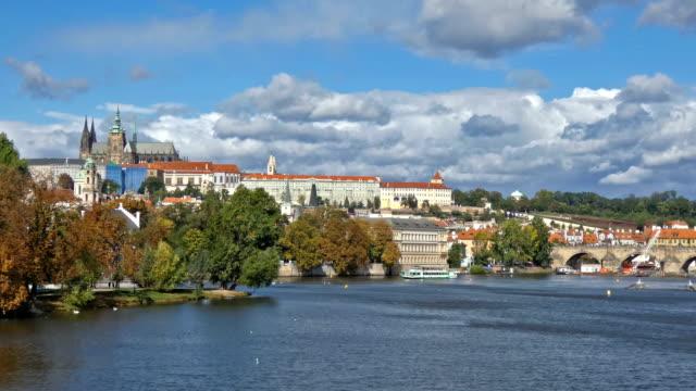 prague - hradcany castle stock videos & royalty-free footage