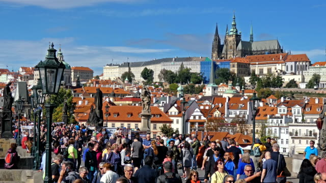 prague - hradcany castle stock videos & royalty-free footage