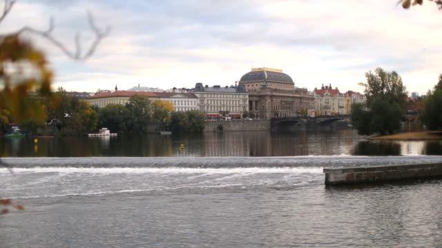 vídeos y material grabado en eventos de stock de vista de la praga puente legli - cultura checa