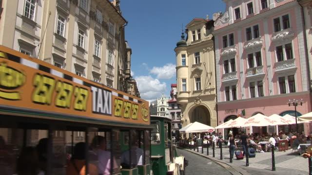 praguea city street in prague czech republic - traditionally czech stock videos & royalty-free footage