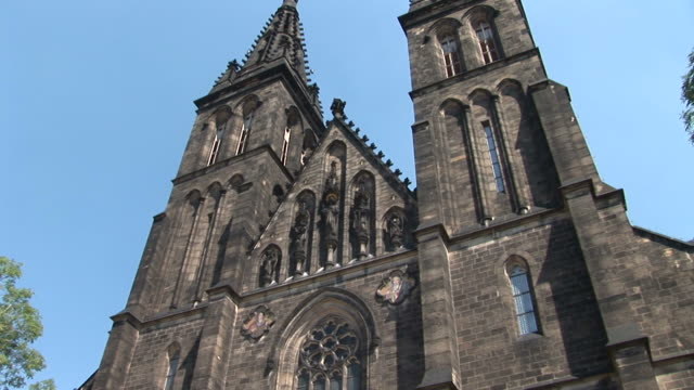 PragueChurch of Saint Peter and Saint Paul in Prague Czech Republic