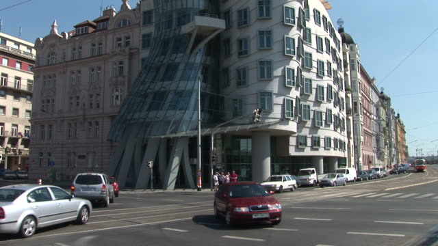 PragueDancing building in Prague Czech Republic