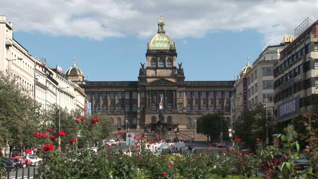 praguenational museum in prague czech republic - traditionally czech stock videos & royalty-free footage