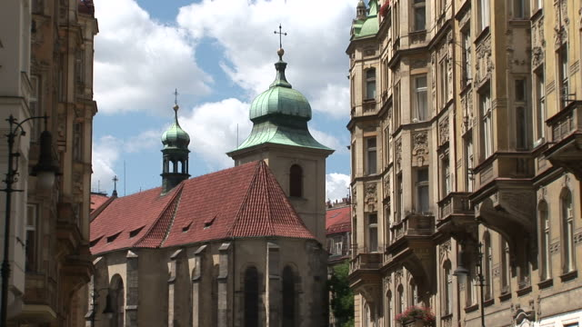 pragueview of a monument in prague czech republic - traditionally czech stock videos & royalty-free footage