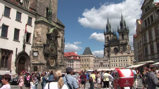 PragueView of Old Town Square in Prague Czech Republic