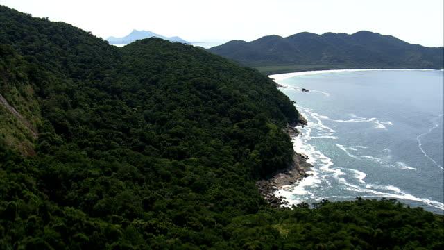 Praia De Lopes Mendes-Luftaufnahme -, Brasilien