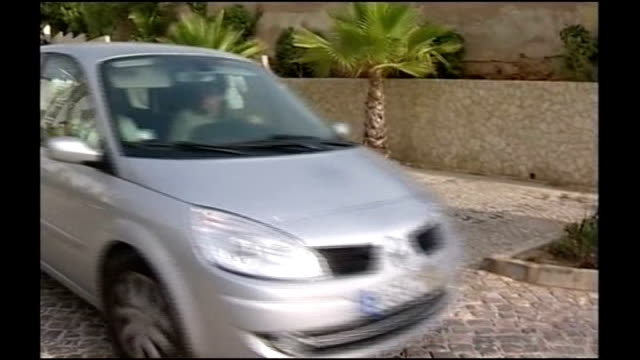 Car along with Kate and Gerry McCann inside