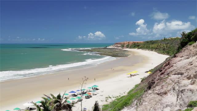 """vídeos y material grabado en eventos de stock de """"ws, ha praia do amor beach in pipa / natal, brazil"""" - praia"""