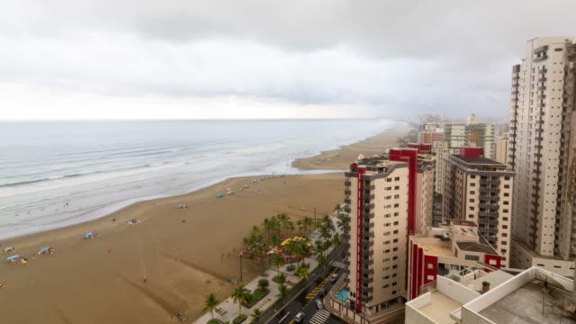 vídeos y material grabado en eventos de stock de praia grande beach - praia