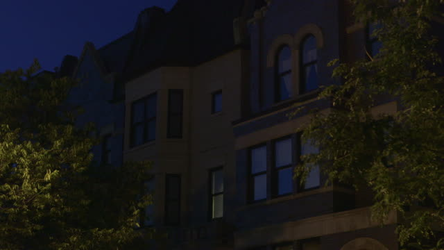 WS Prairie District apartments night