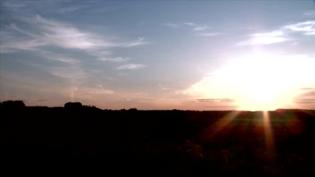 prairie grass at sunset - saskatchewan stock videos and b-roll footage