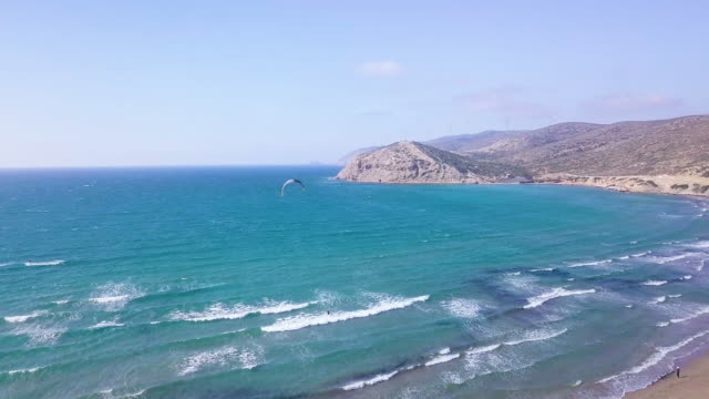 prasonsi beach - rhodes dodecanese islands stock videos & royalty-free footage
