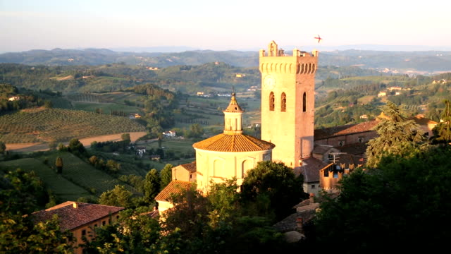 prato del duomo church italy san miniato nr florence tuscany  - prato stock videos and b-roll footage