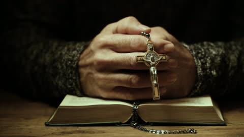 prayer - christianity stock videos & royalty-free footage