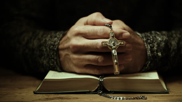 prayer - priest stock videos & royalty-free footage