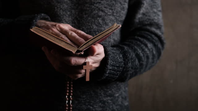 prayer - bible stock videos & royalty-free footage