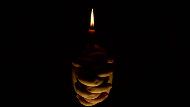 praying - candlelight stock videos & royalty-free footage