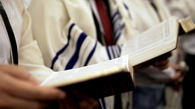 praying with torah - judaism stock videos & royalty-free footage