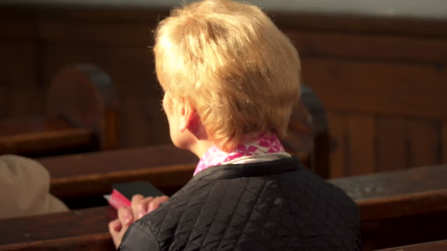 praying women - congregation stock videos and b-roll footage