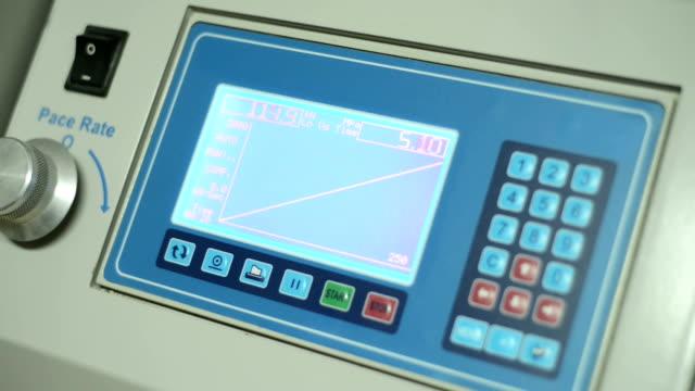 Preassure Test Machine Monitor