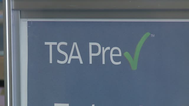 PreCheck Sign in O'Hare Airport in Chicago on March 29 2016