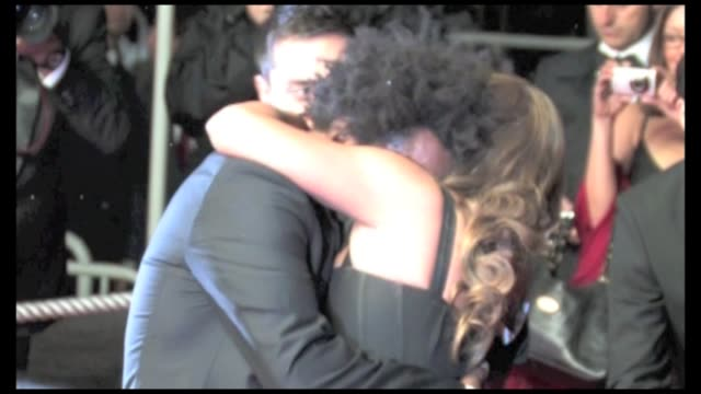 precious red carpet at 2009 cannes film festival with lee daniels mariah carey and her husband nick cannon lenny kravitz paula patton and gabourey... - precious gemstone stock videos & royalty-free footage
